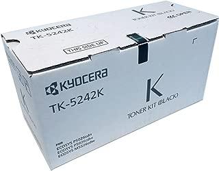 Kyocera 1T02R70US0 Model TK-5242K Black Toner Cartridge for M5526cdw/ P5026cdw, Genuine Kyocera, Up To 4000 Pages
