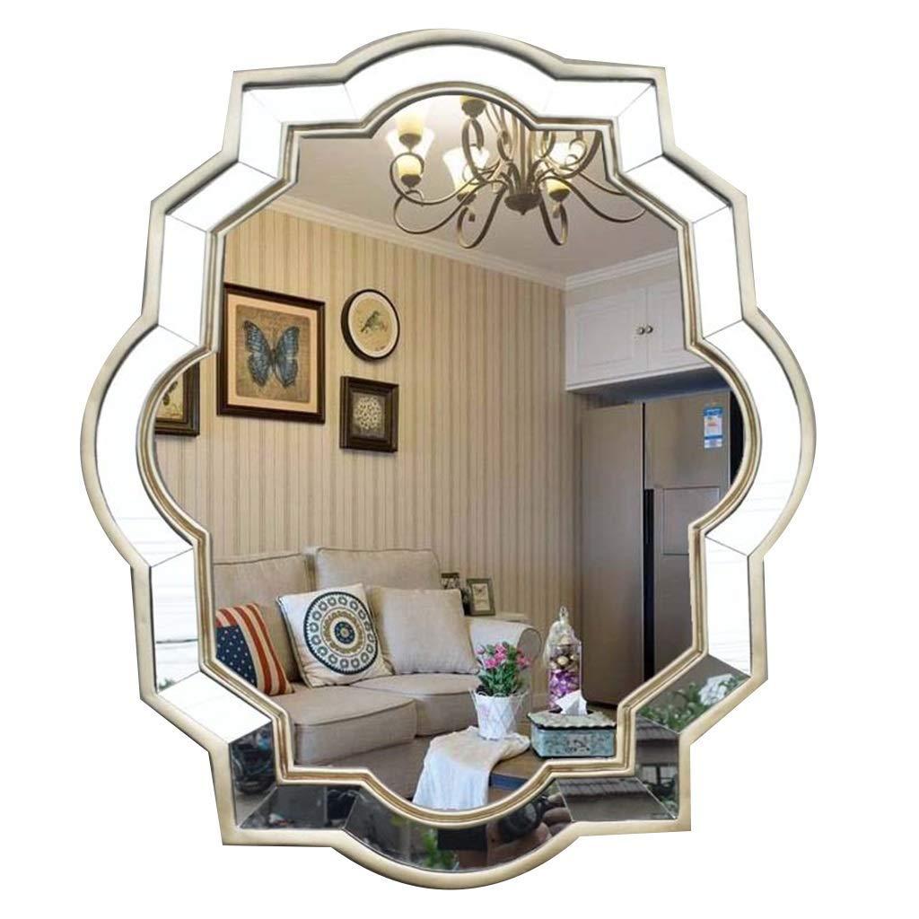 مرايا جدارية كبيرة لمرآة المكياج من أجل الممر مرآة جدارية ذات تصميم حديث وعتيق تعلق على الحائط ذات جودة عالية وألوان غرفة النوم اللون ذهبي المقاس 72 59 سم Amazon Ae