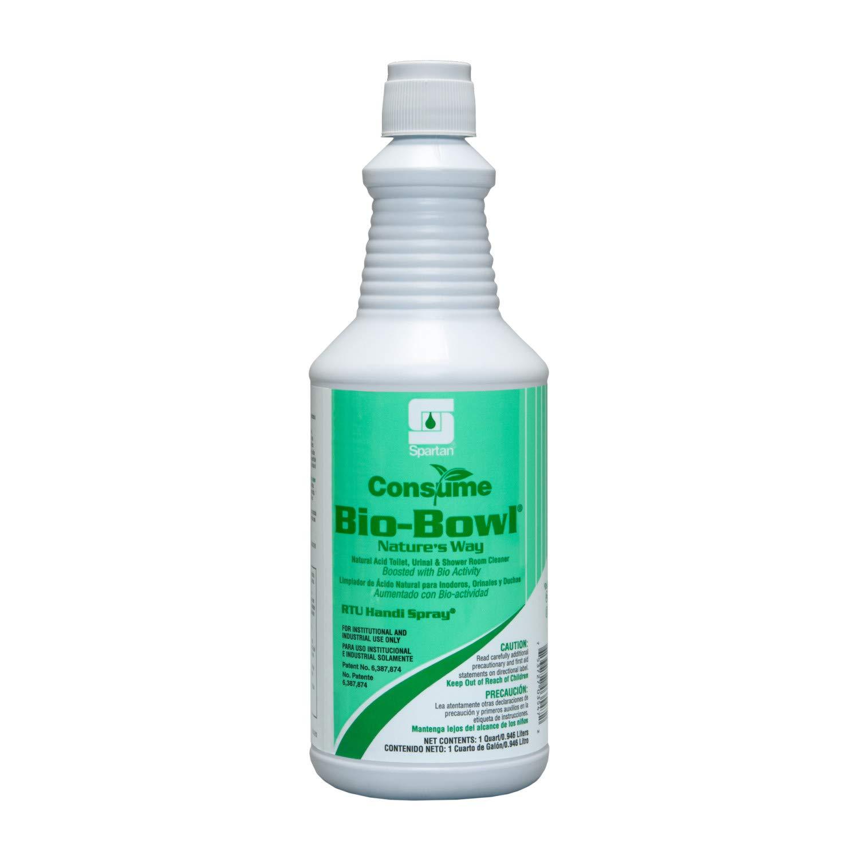 Spartan RTU Consume Bio-Bowl Bathroom Case Cleaner 1 Baltimore Mall depot Quarts of