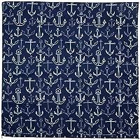 HAV-A-HANK ハバハンク バンダナ 国内正規品 全30色 MADE IN USA 55cm×55cm ペイズリー ヴィンテージ スカーフ ハンカチ シナコバ SINA COVA アメリカ製 (1枚 (91049)マリンネイビー)
