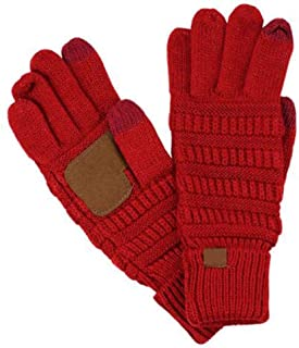 Europe America Fashion Knitted Gloves Mittens Brand Autumn Winter Warm Touch Screen Cycling Gloves for Women And Men Men's Gloves