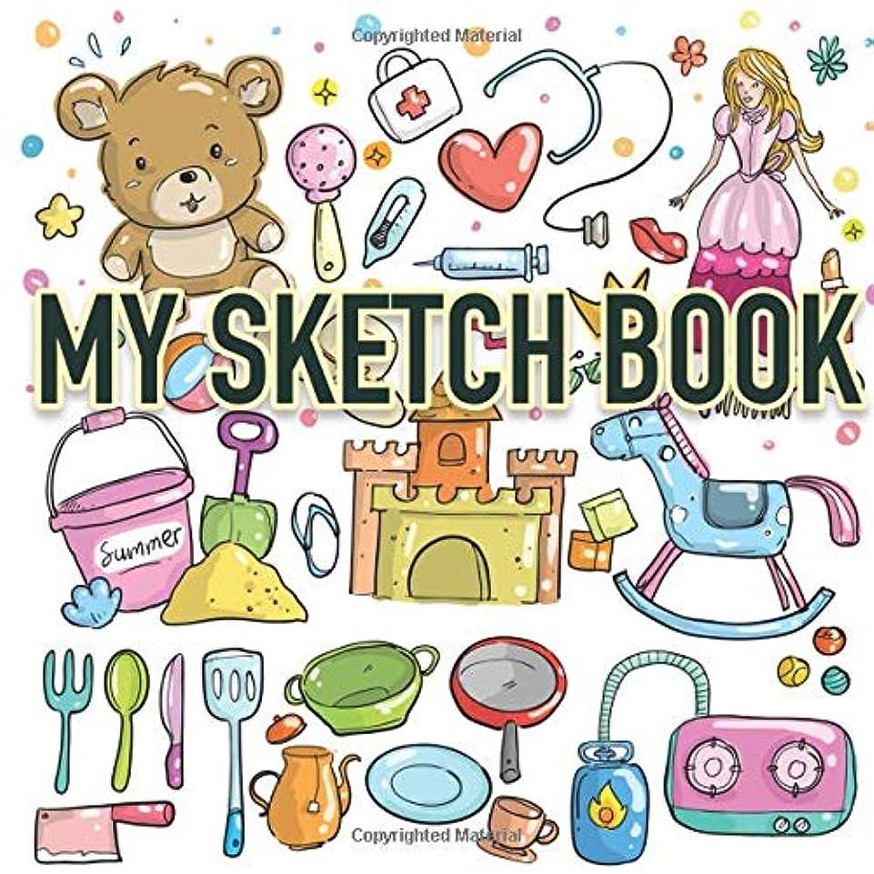布ベルトエネルギーMy Sketch Book: Over 100 Blank Pages for Drawing, Doodling or Sketching for Kids