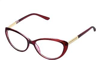 c1a8046990 forepin reg; Lunettes de Vue Vintage pour Femme et Homme Verre Transparent  Cadre Frame Lentille