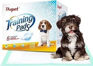 Thxpet Pet Puppy Training Pads Dog Pee Potty Pad 120 Count 17.5