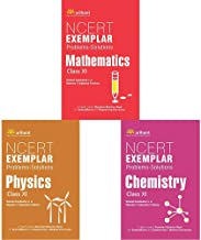NCERT Exemplar Problems-Solutions MATHEMATICS class 11th + NCERT Exemplar Problems-Solutions PHYSICS class 11th + NCERT Exemplar Problems-Solutions CHEMISTRY class 11th (Set of 3 Books)
