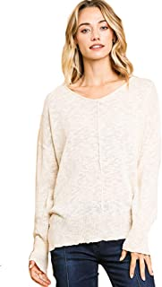 Umgee Re-Order! Burnout Lightweight Sweater