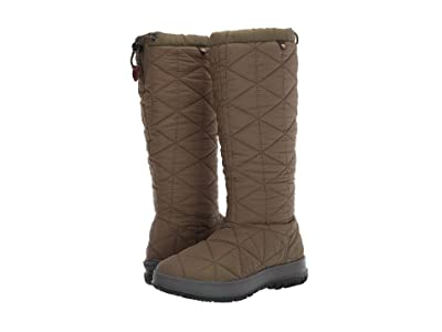 Bogs Snowday Tall (Dark Green) Women