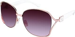Jessica Simpson Women's J5254 Rgld Non-polarized Iridium Round Sunglasses, Rose Gold, 68 mm