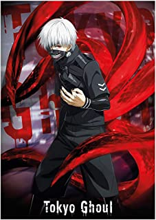 Tianmeijia Tokyo Ghoul Ken Kaneki Anime Maxi Poster Print 61x91.5cm | 24x36 inches
