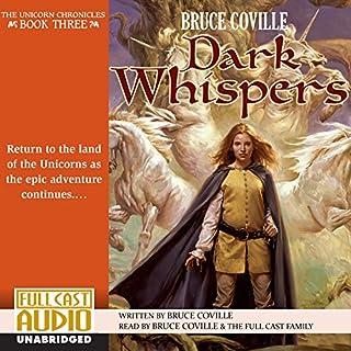 Dark Whispers audiobook cover art