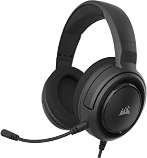 Corsair HS35 - Stereo Gaming Headset - Memory Foam Earcups - Headphones Work with PC, Mac, Xbox One, PS4, Switch, iOS and ...