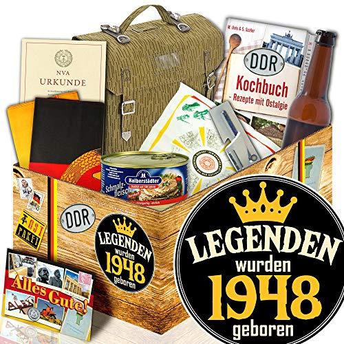 Legenden 1948 / Geschenkset für Männer / NVA DDR Produkte