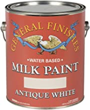 white milk paint cabinets