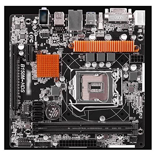 Fit for Placa Base Asrock Micro ATX DDR4 LGA 1151 B150M-HDS Compatible con procesadores Intel Core de séptima y sexta generación Placas Base de computadora
