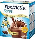 Fontactiv Forte Chocolate - 14 Sobres de 30gr - Suplemento Nutricional para adultos y mayores - 1 o...