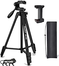 Osaka OS 550 Tripod 55 Inches with Mobile Holder and Carry Case for Smartphone & SLR Camera Portable Lightweight Aluminium...