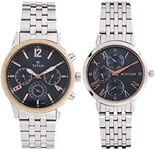 Titan Modern Bandhan Analog Blue Dial Unisex Watch-NM17342569KM01 / NL17342569KM01