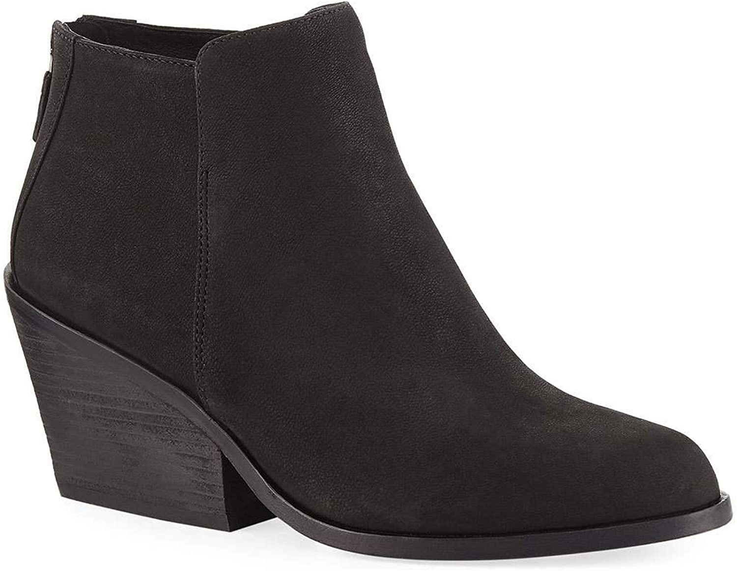EileenFisher Womens Rove Nubuck Round Toe Ankle Fashion Boots