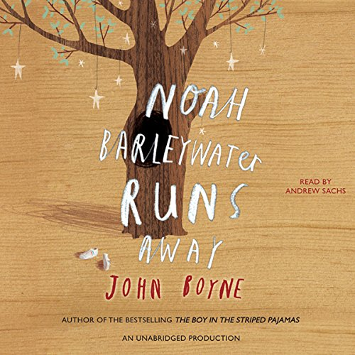 Noah Barleywater Runs Away audiobook cover art