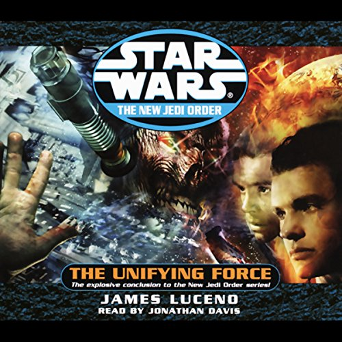 Page de couverture de Star Wars: The New Jedi Order: Unifying Force