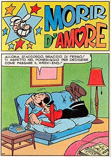Braccio di Ferro - Morir d'Amore (Italian Edition)