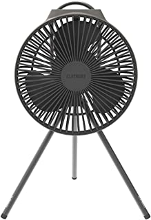Claymore V600+ Rechargeable Portable Fan with USB Type-C Charging, Modern Minimalistic Compact Fan Design, Impact Resistan...