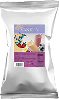 MOCAFE Madagascar Vanilla Powder for Smoothies and Lattes, 3-Pound Bag Instant Smoothie Mix, Coffee House Style Blended Drink Used in Coffee Shops