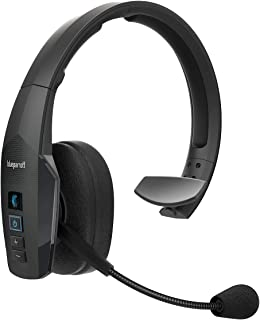 Jabra BlueParrott New B450-XT Mono Bluetooth Over-The-Ear Headset - 96% Noise-Cancelling with Voice Control for Road Travel and High-Noise Environments - Black