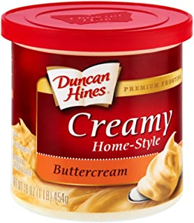 Duncan Hines Creamy Home-style Premium Frosting, Buttercream 1 Lb - 6 Packs