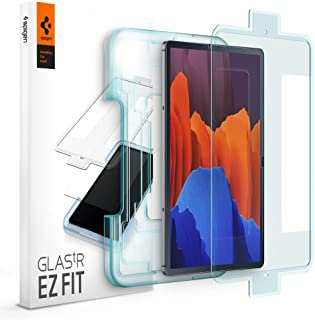 Spigen GLAStR EZ FIT designed for Samsung Galaxy Tab S7+ PLUS Screen Protector (12.4 inch) Premium Tempered Glass with Aut...