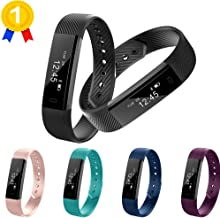 Keoker ID115 Fitness Tracker Bluetooth Notification Push Pedometer Smart Wristband