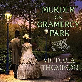 Murder on Gramercy Park audiobook cover art