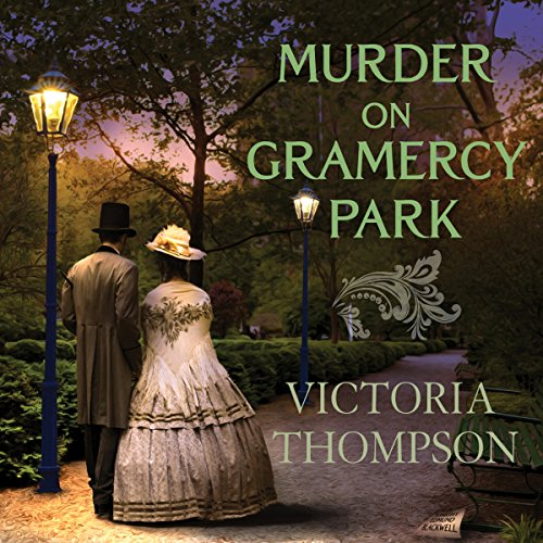 Murder on Gramercy Park audiobook cover art
