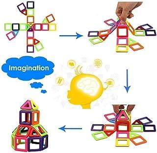 العاب تركيبية للبناء مغناطيسية تضم 76 قطعة واحاجي تعليمية للاولاد