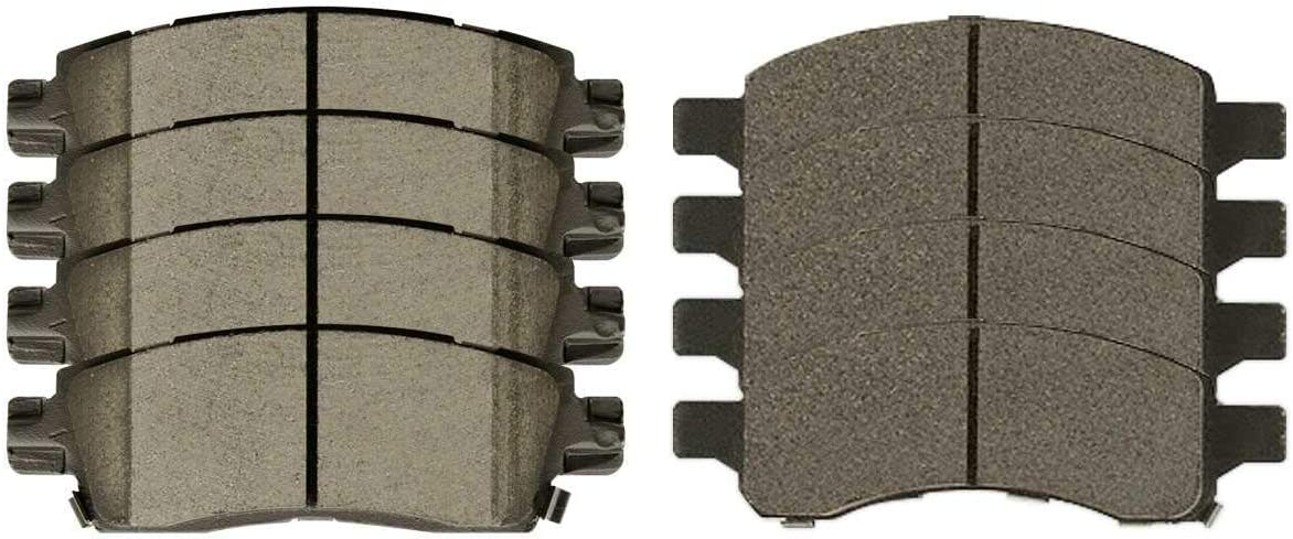 AutoShack SCD1169-883 sale 8pcs Front and Ceramic Brake Rear Pad NEW before selling Disc