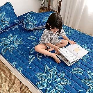 Söt tecknad barnmadrass mjuk andningsbar babymatta fyra säsonger halkfri sänglakan sängskyddsdyna (färg: I, storlek: 60 x ...