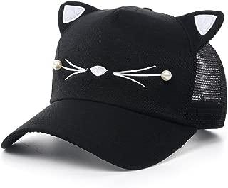 Coolwife Women's Sport Cap Baseball Golf Cat Ear Adjustable Hip Hop Sun Hat