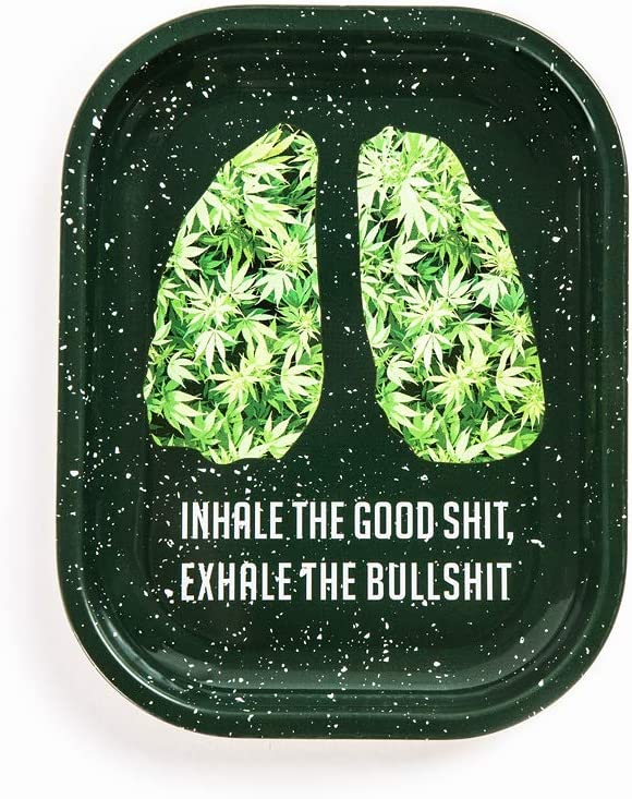 Rolling Tray 7'' gift X Max 49% OFF 5.5'' Joints Shit - Good