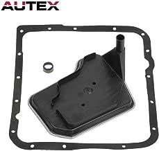 AUTEX 4L60E 4L65E 4L70E Transmission Fluid Filter Kit Compatible With Chevy/Compatible with Pontiac 1998-Up Deep Pan 24208465