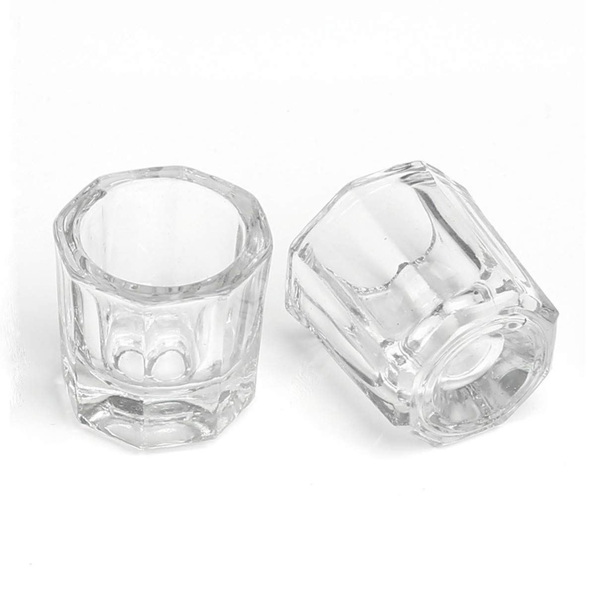 Free Shipping New Yiicon 2 PCS Mini Acrylic Art Cup Glass Nail Crystal Discount mail order