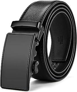 comprar comparacion MUCO Cinturón de cuero para hombres,Sencillo y clásico, con hebilla automática