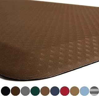 Kangaroo Original Standing Mat Kitchen Rug, Anti Fatigue Comfort Flooring, Phthalate Free, Commercial Grade Pads, Waterproof, Ergonomic Floor Pad for Office Stand Up Desk, 39x20, Mocha