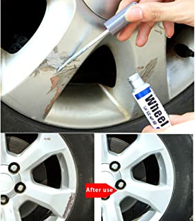 bright silver alloy wheel paint