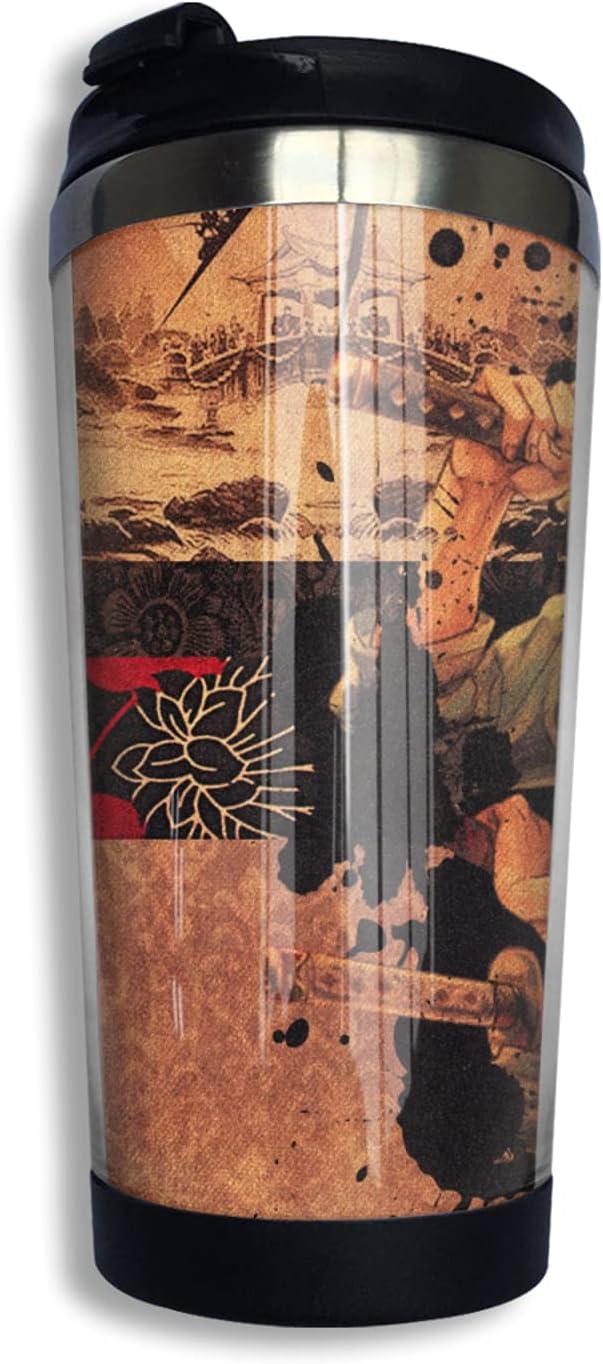 Surprise price One Piece Samurai Roronoa Zoro Anime Max 74% OFF Coffee Print 3d Thermos Cup