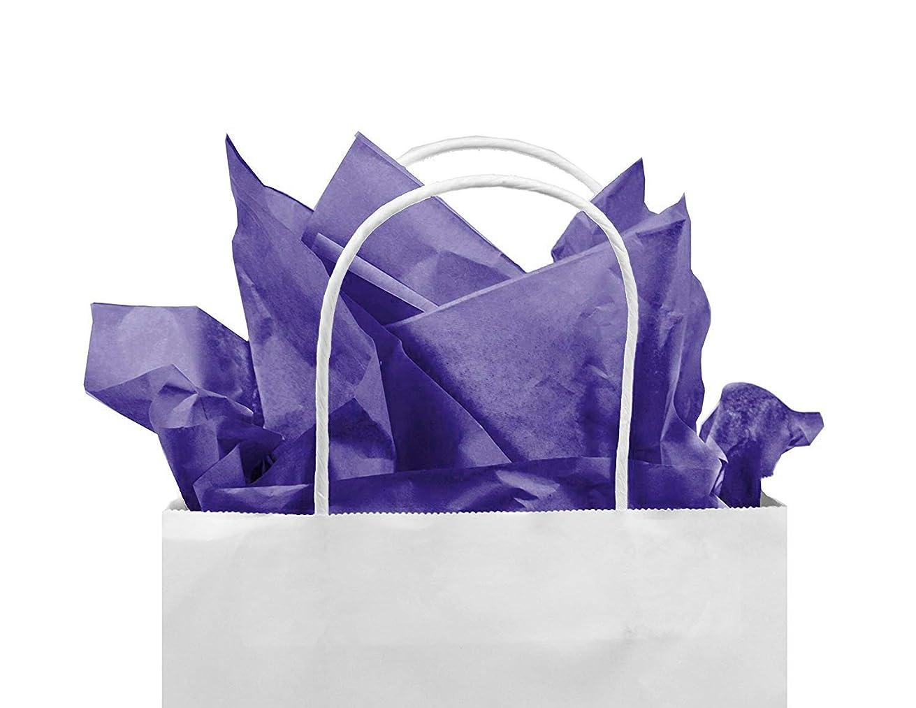 Gift Tissue Paper Bulk - 60-Sheet Purple Gift Wrapping Tissue Paper, 20 x 20 Inches, Gift Bag Tissue Paper Gift Wrap, Premium Quality Tissue Paper, Paper Craft Supplies (Purple, 60 CT)