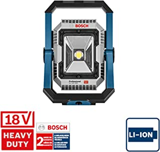 System profesjonalny 18 V firmy Bosch: akumulatorowa lampa budowlana GLI 18V-1900 (maks. jasność 1 900 lm, bez akumulatoró...