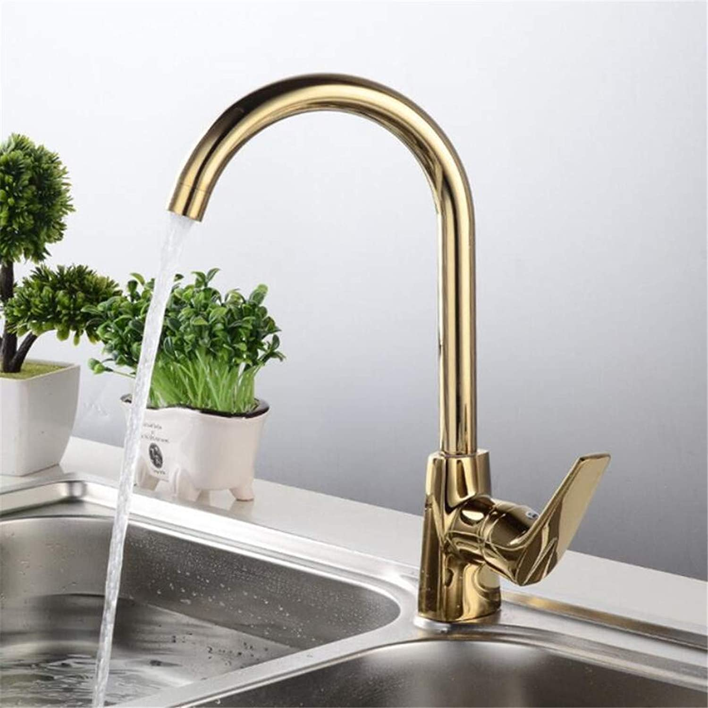 Faucet Washbasin Mixerkitchen Faucet 360 Degree redation Outlet Pipe Tap Basin Plumbing Hardware Brass Sink Faucet Torneira De Cozinha La Cocina gold