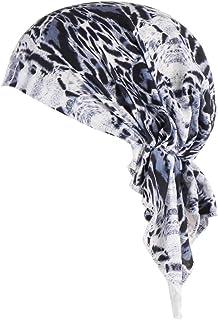 Amorar Foulards Hijab Bandana Dames Coton Chapeau Couvre-Chef Chemo Chapeau Doux Slouchy Beanie Turban Head Wraps Chapellerie T/ête De Mort Bonnet pour Cancer Chimioth/érapie Chemo Perte De Cheveux