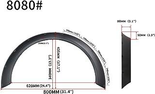 Auto-onderdelen 2 stks Fender Flares Compatibel met Cars Body Kits Mud Splash Guard Wheel Arches Extension Compatibel met ...