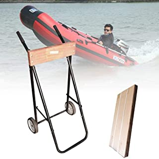 Motorboat Cart 100KG Outboard Motor Engine Trolley Stand Boat Carrier Transport Wheel
